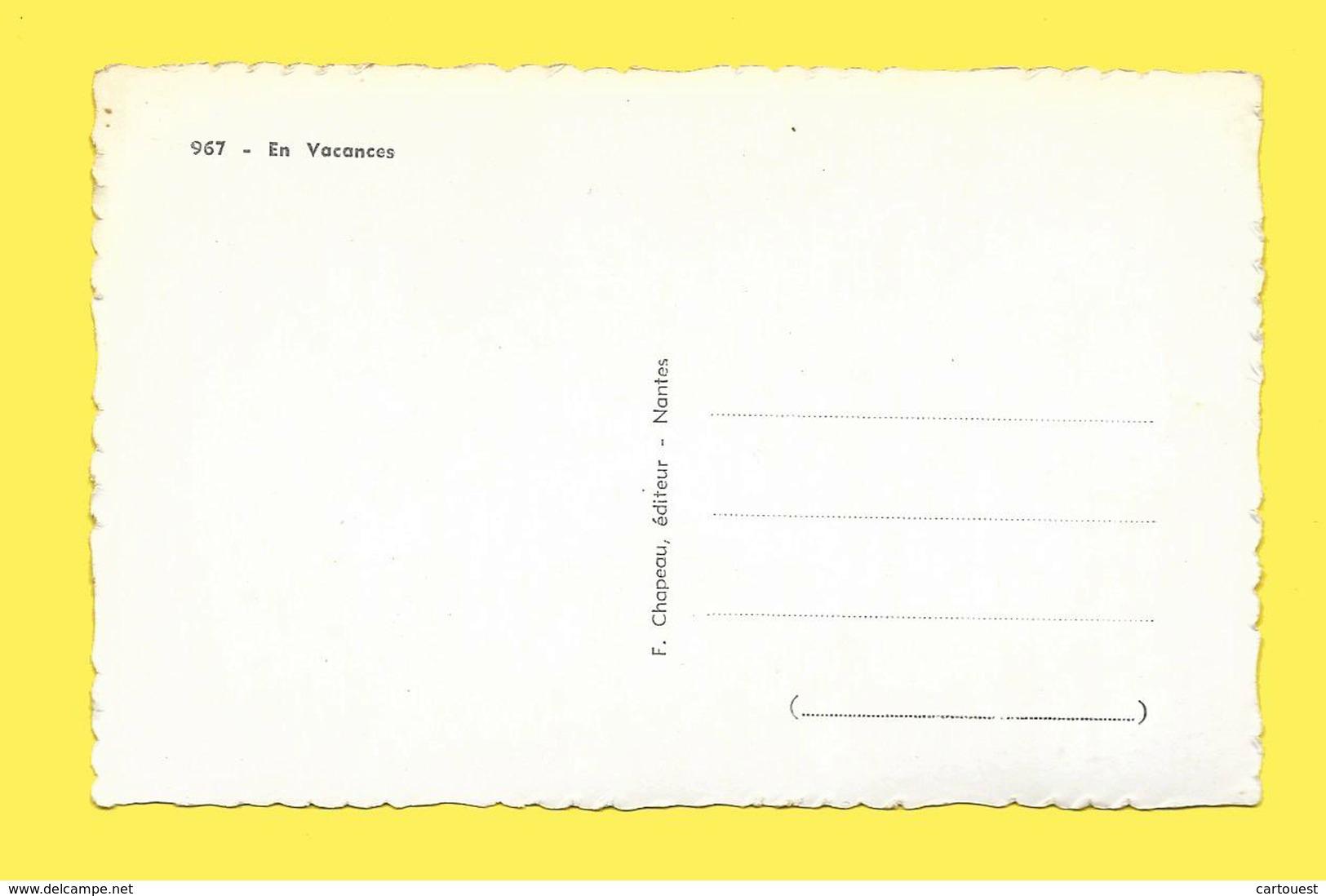 CPSM FEMME CAMPING Si Ma Tente Vous Tente CIRCA 1950 - Femmes