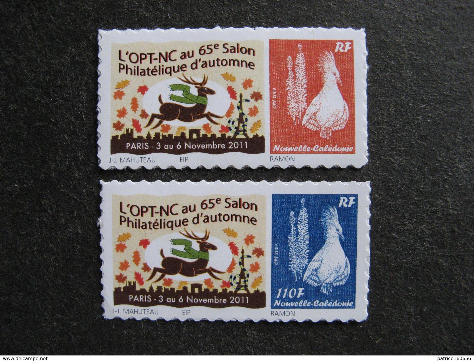 Nouvelle-Calédonie: TB Paire N°1138 Et N° 1139, Neufs XX . Cote = 40 Euros. - New Caledonia