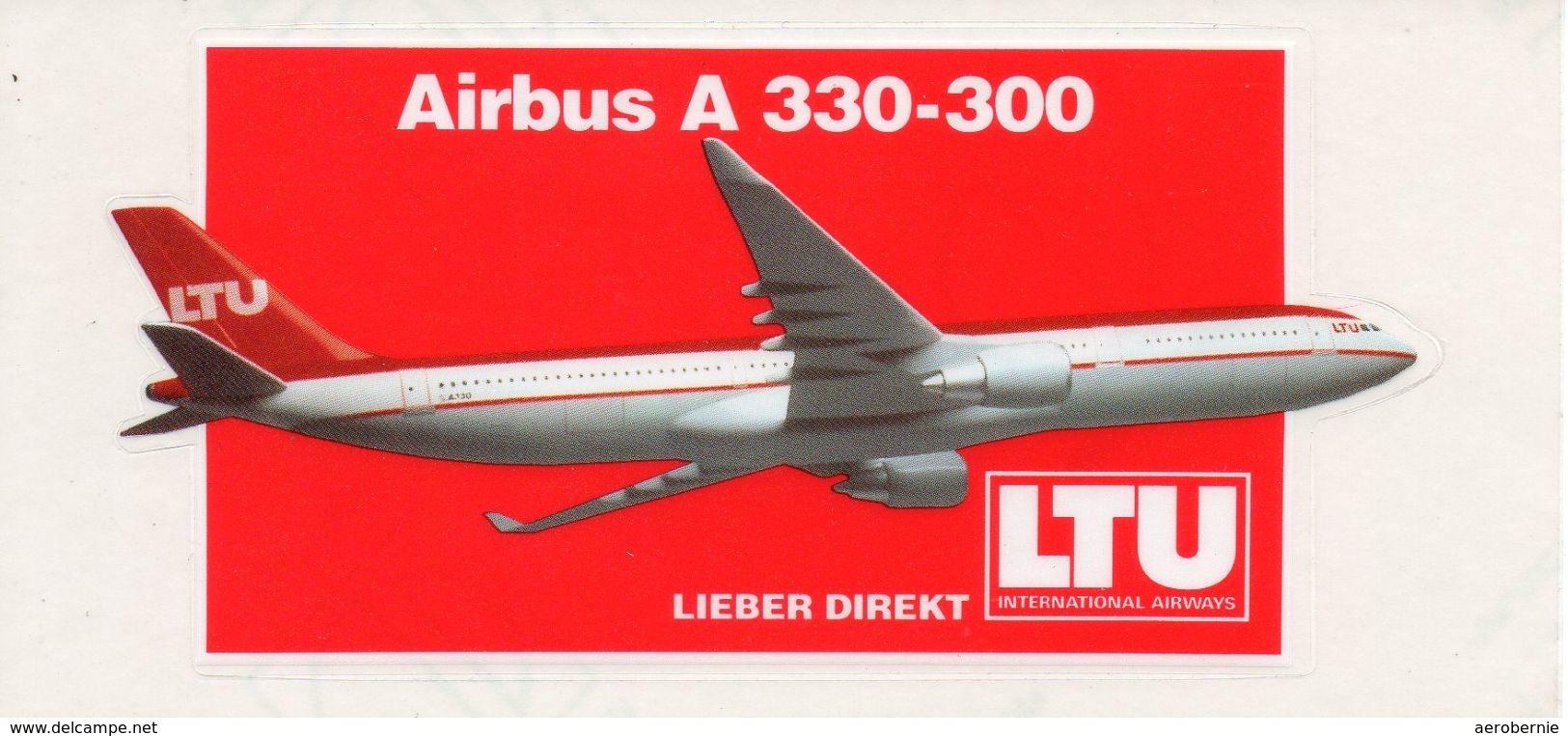 Aufkleber LTU - Airbus A-330 - Aufkleber