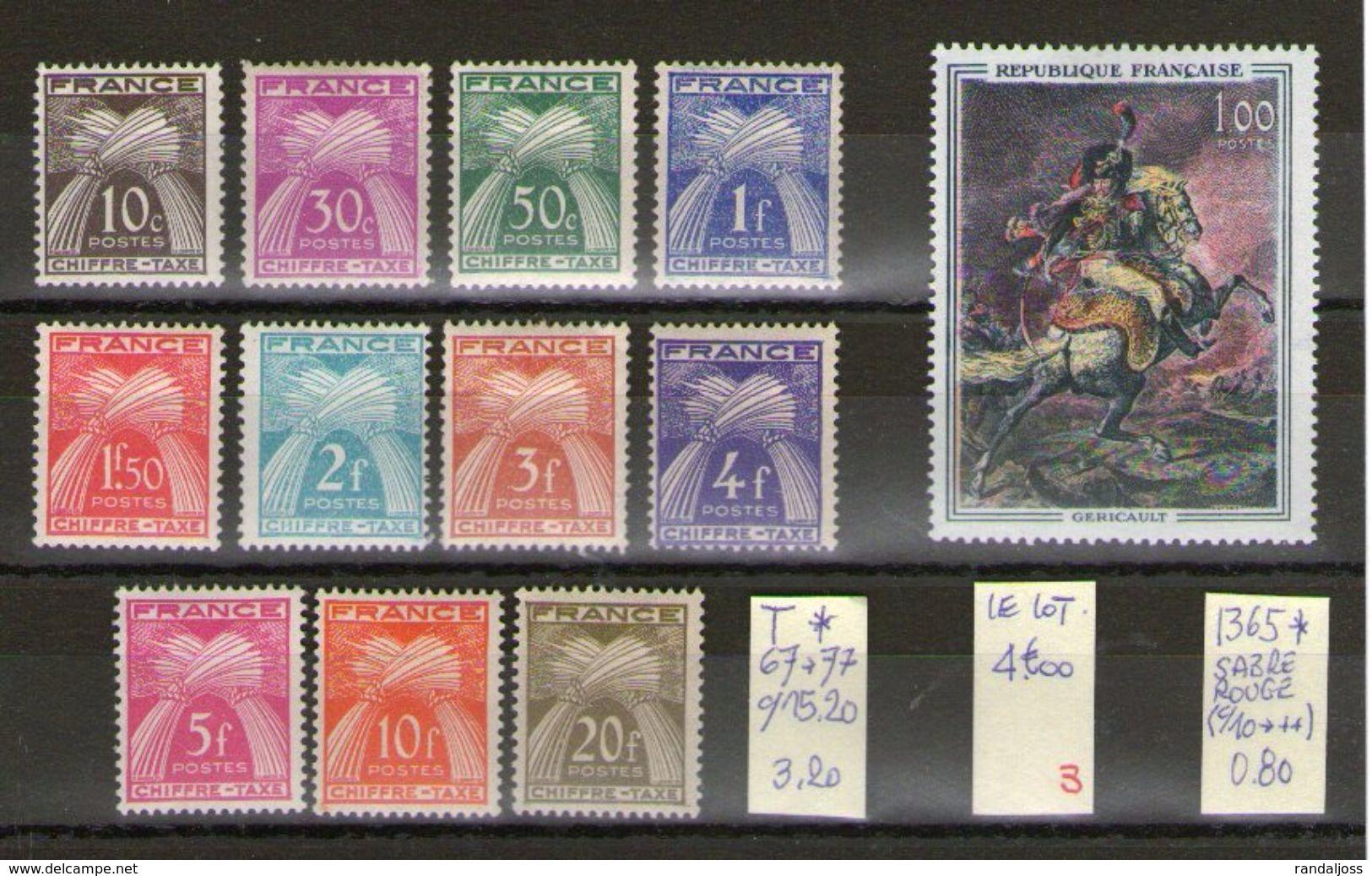 Taxes* Et Variété*_voir Scan - Colecciones Completas