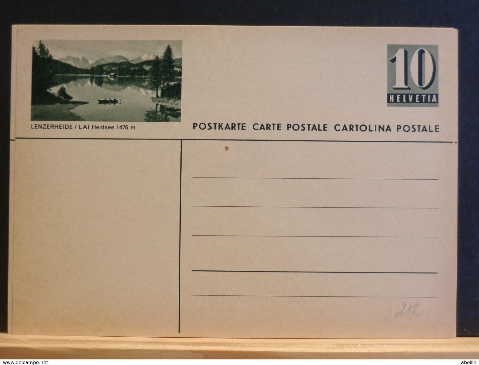 70/212  CARTE POSTALE ILLUSTRE - Interi Postali