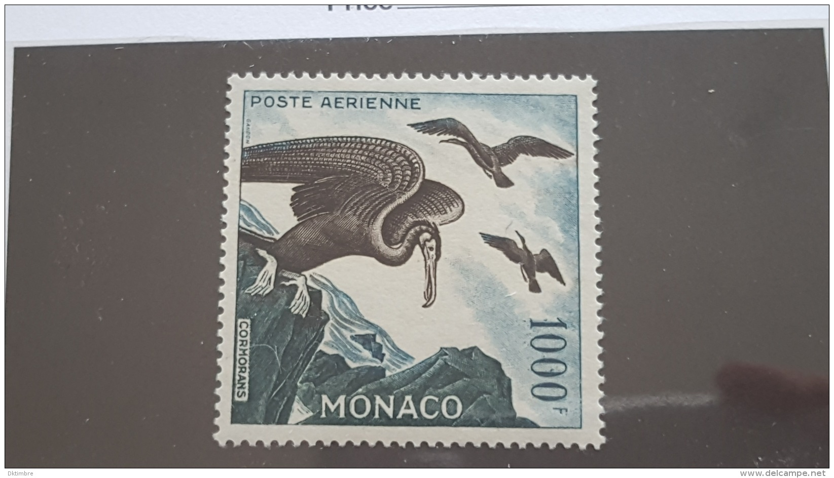 LOT 362737 TIMBRE DE MONACO NEUF** N°68 VALEUR 130 EUROS DEPART A 1€ - Posta Aerea