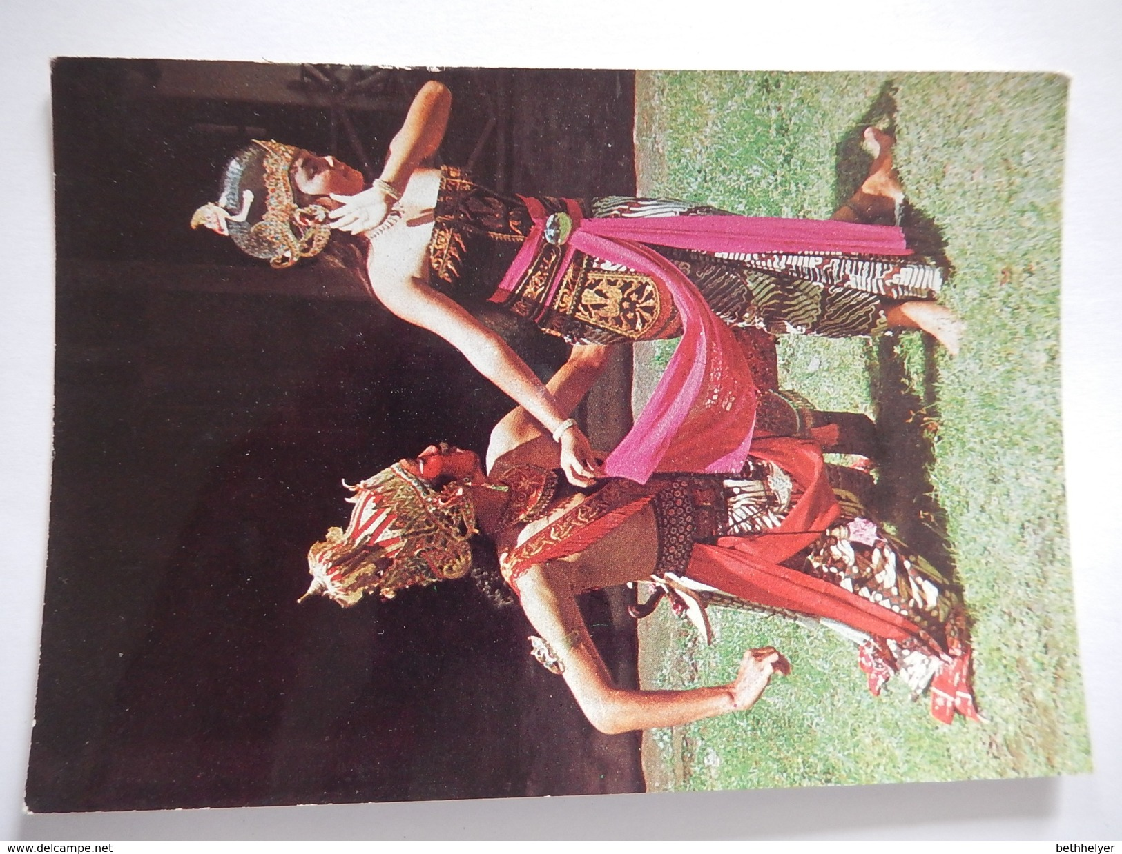 CPSM - RAHWANA AND SHINTA - FROM THE RAMAYANA STORY - COSTUME - R3928 - Cartes Postales