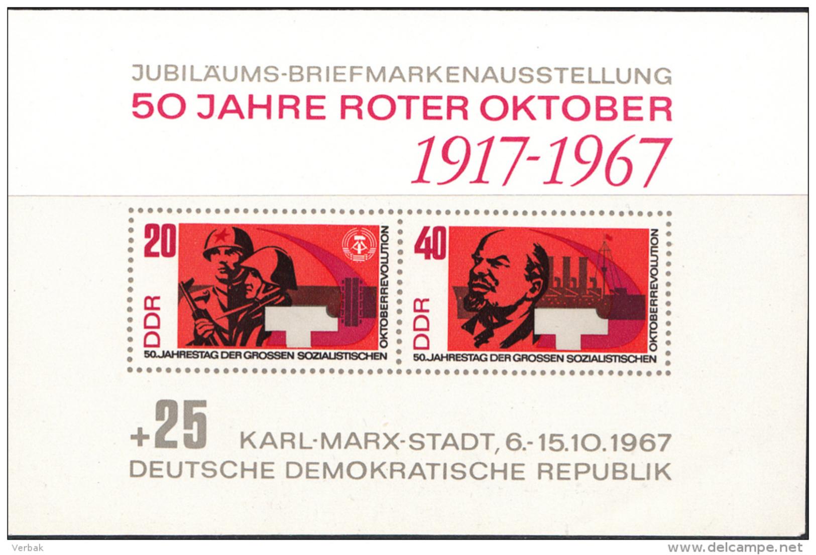 OOST-DUITSLAND MI.NR.BLOCK 26  MNH / POSTFRIS / NEUF SANS CHARNIERE 1967 - [6] Oost-Duitsland