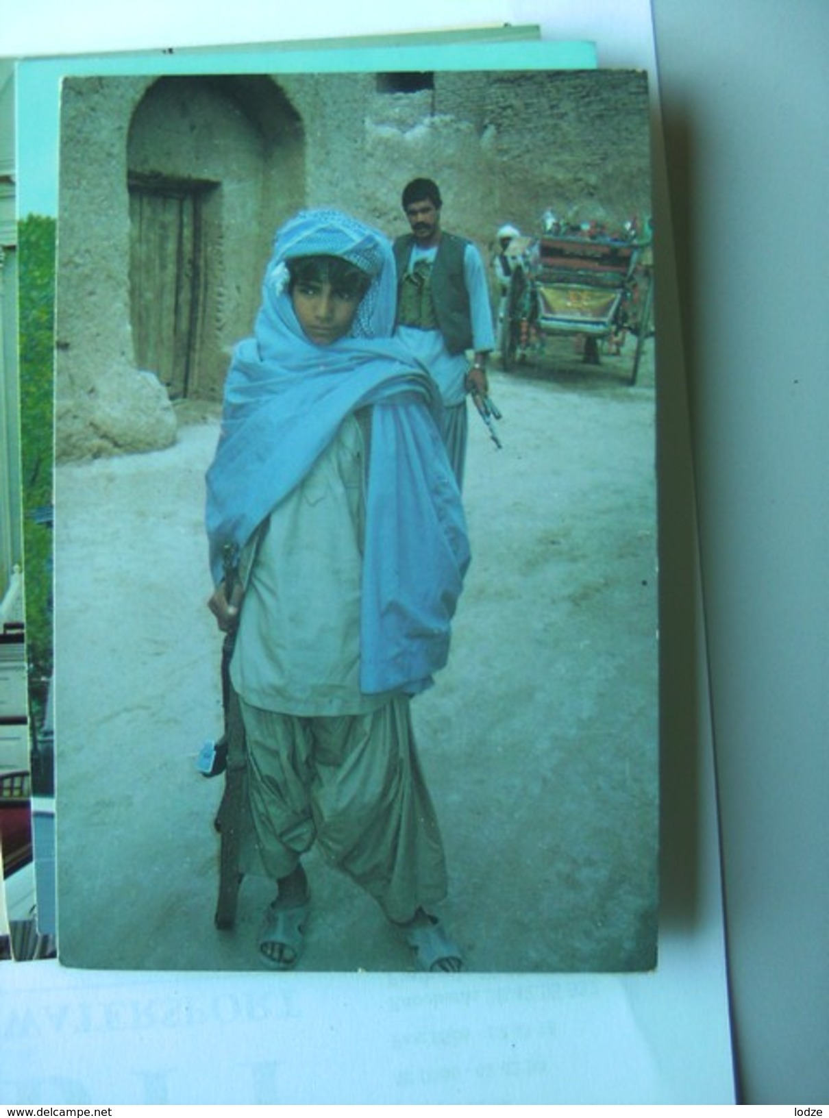 Afghanistan ? A Young Armed Mujahid - Afghanistan