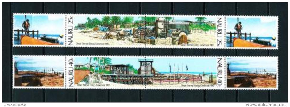 Nauru  Nº Yvert  247/50 (unidos Con Viñetas)  En Nuevo - Nauru