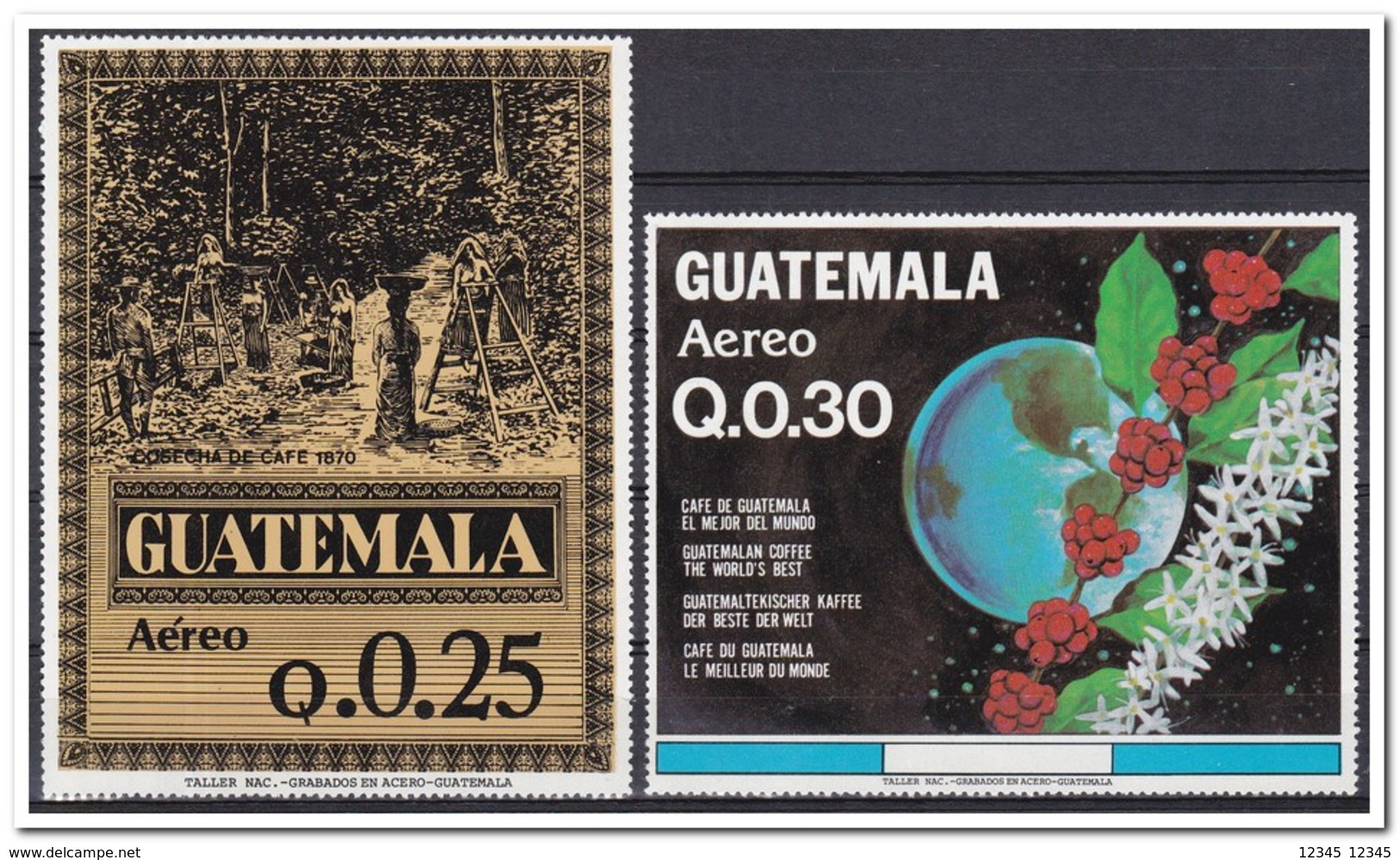 Guatemala 1984, Postfris MNH, Coffee, Agriculture, Plants - Guatemala