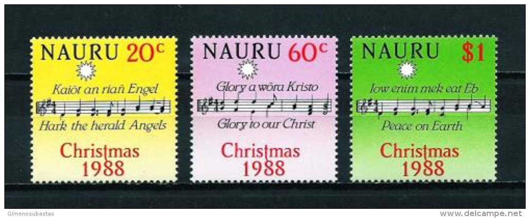 Nauru  Nº Yvert  351/3  En Nuevo - Nauru