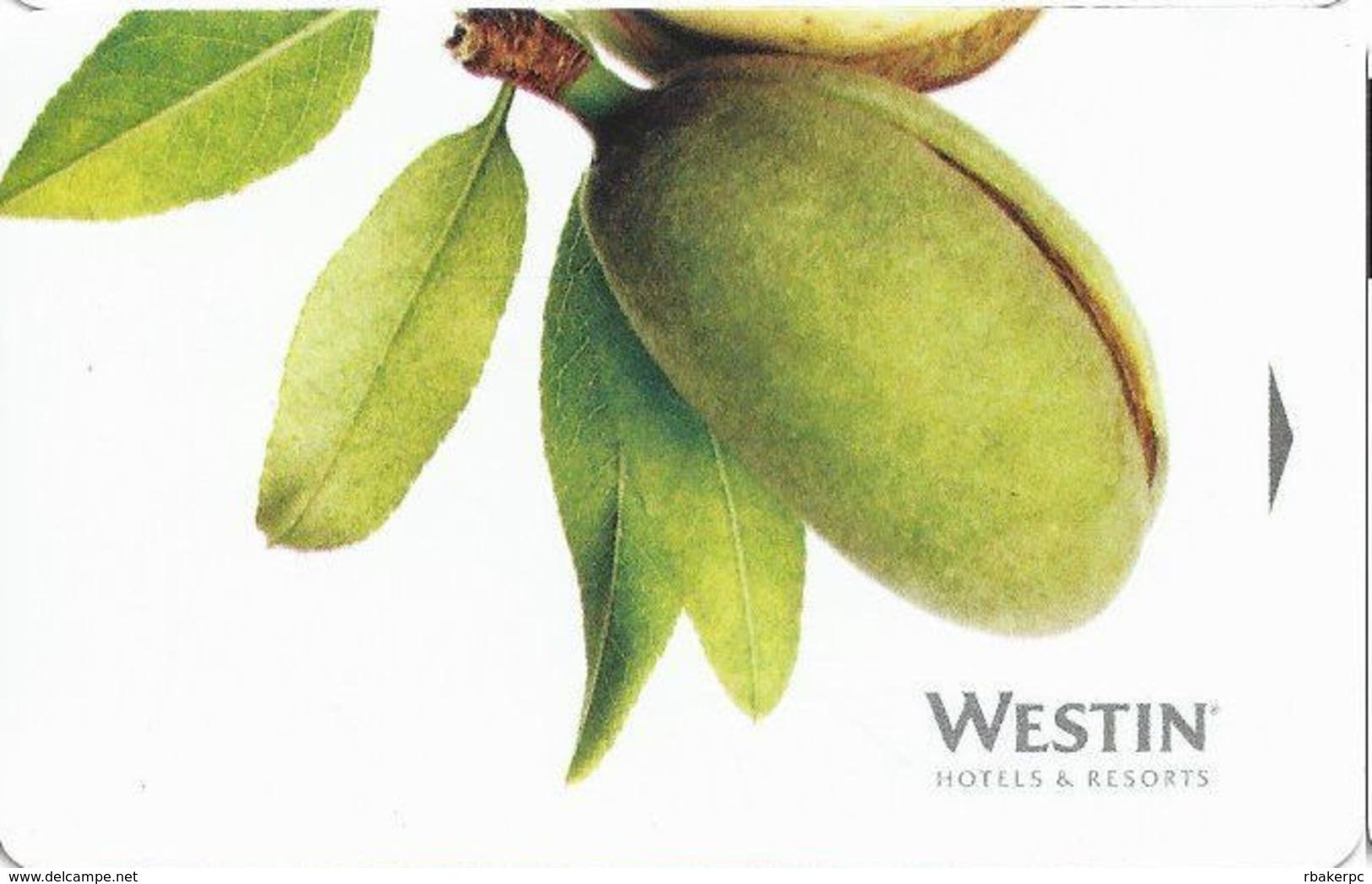 Westin Hotel Room Key Card - Cartes D'hotel