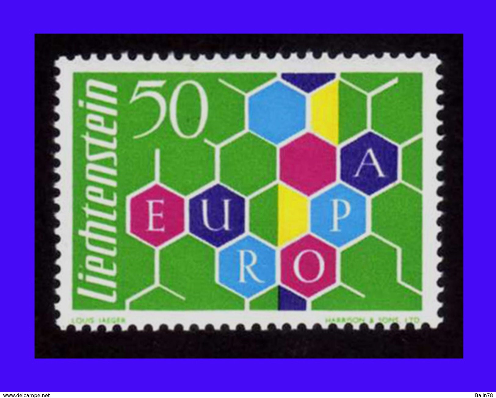 1960 - Liechtenstein - Sc. 356 - MNH - V. Catalogo 125€ - LI-190 - 02 - Liechtenstein