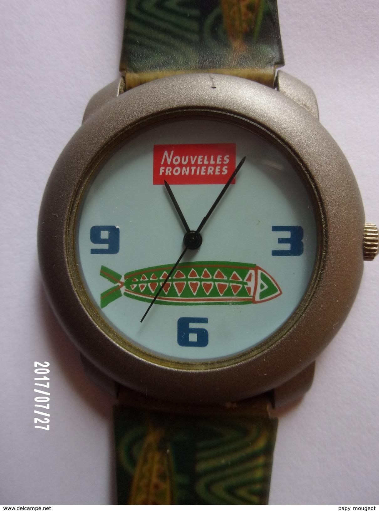 Montre Bracelet Nouvelles Frontières - Montres Publicitaires