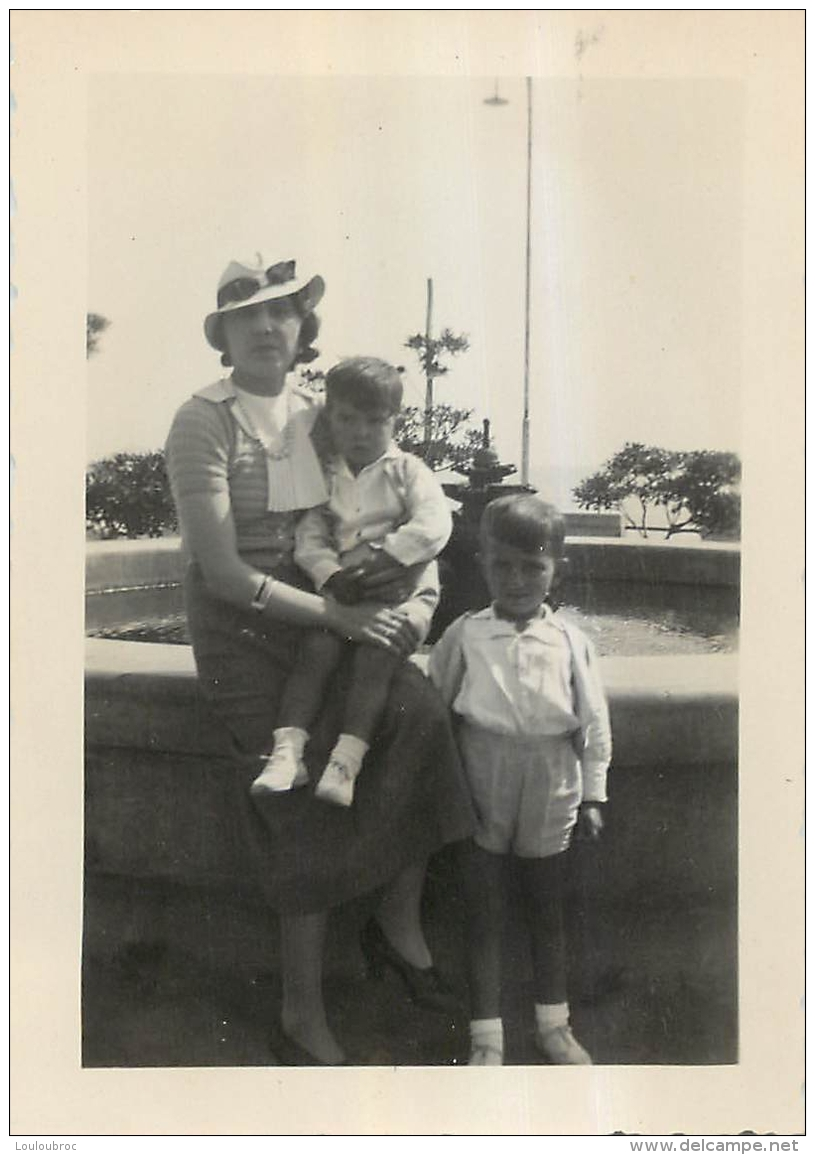 PHOTO NOLI EN LIGURIE  1936  FORMAT  10  X 7 CM - Orte