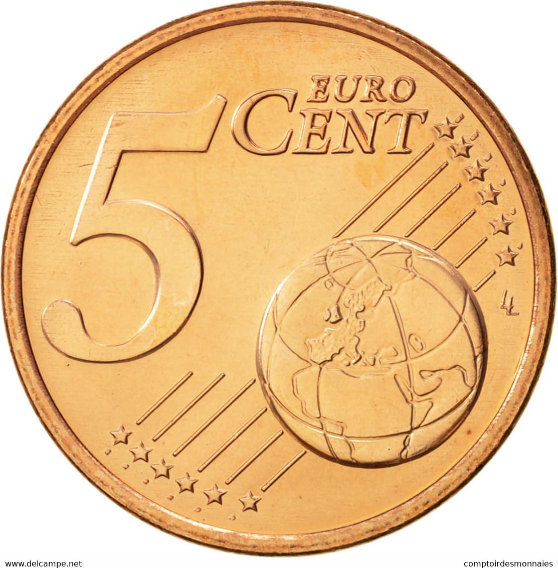 Malte, 5 Euro Cent, 2008, FDC, Copper Plated Steel, KM:127 - Malta