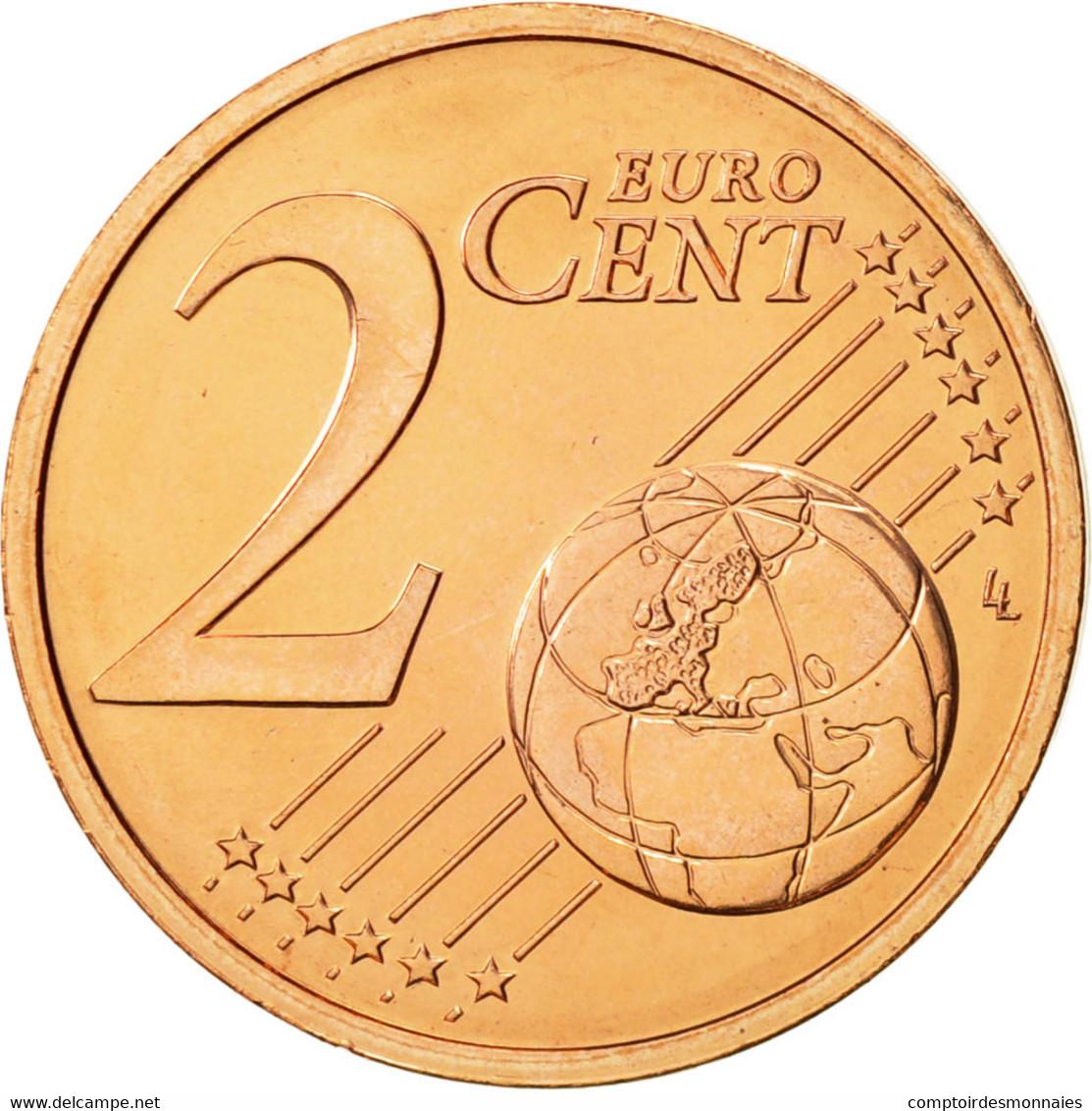 Malte, 2 Euro Cent, 2008, FDC, Copper Plated Steel, KM:126 - Malta