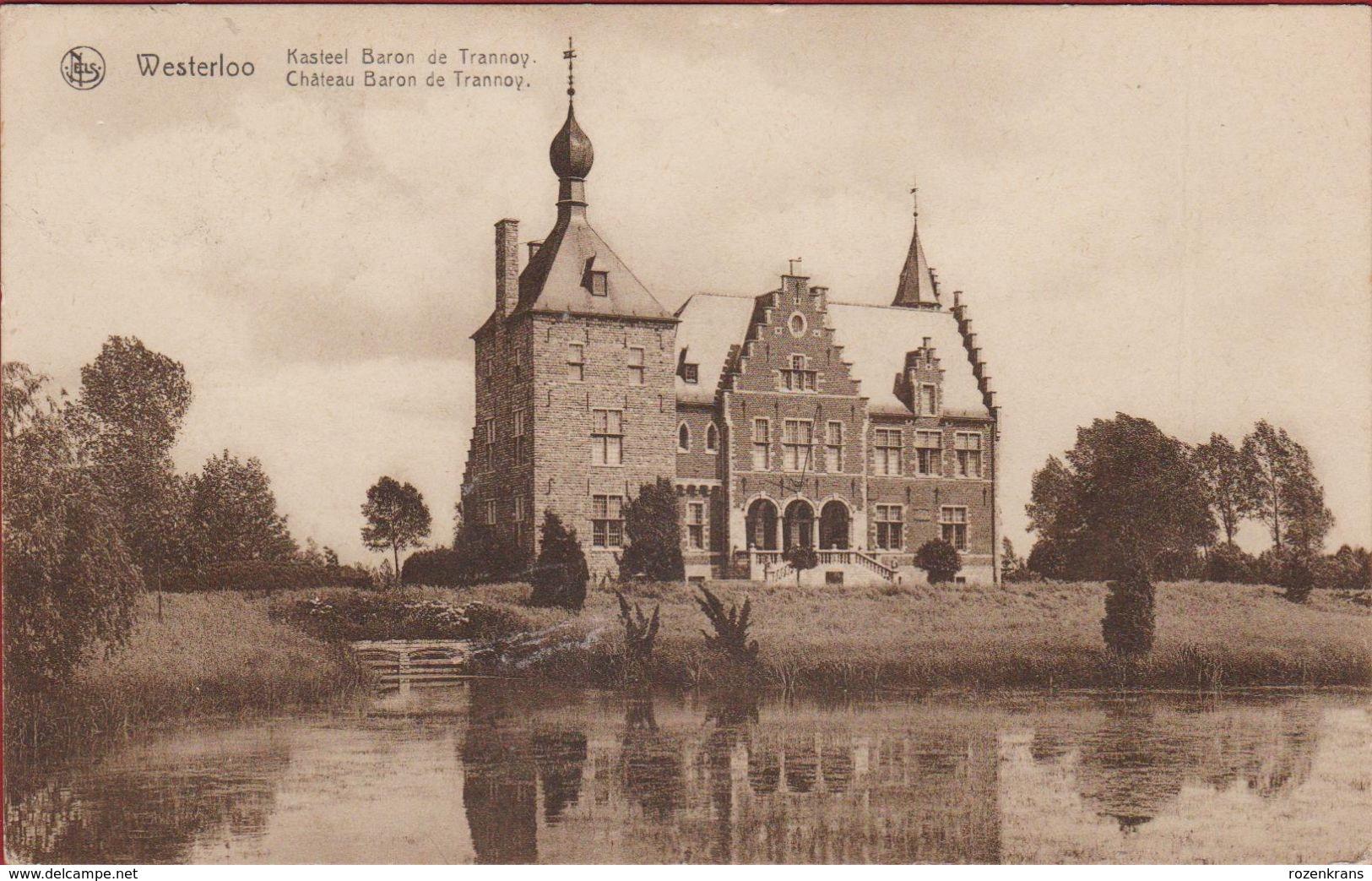Westerloo Westerlo Kasteel Baron De Trannoy Kempen (In Zeer Goede Staat) - Westerlo