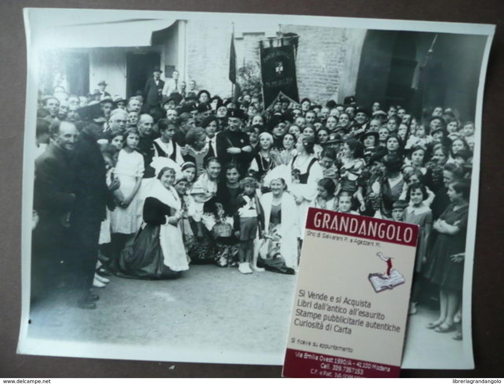Fotografia 1935  Nizza Monferrato Mombaruzzo Folklore - Autres