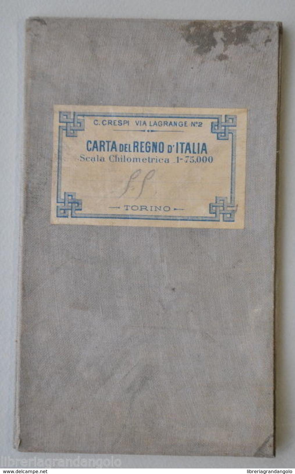 Cartina Militare Piemonte.Otros Istituto Geografico Militare Carta Regno Italia Tavoletta Susa Piemonte 1898