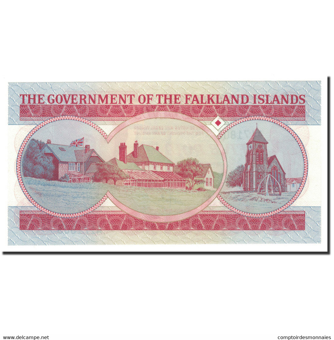 Falkland Islands, 5 Pounds, 1983, KM:12a, 1983-06-14, NEUF - Falkland