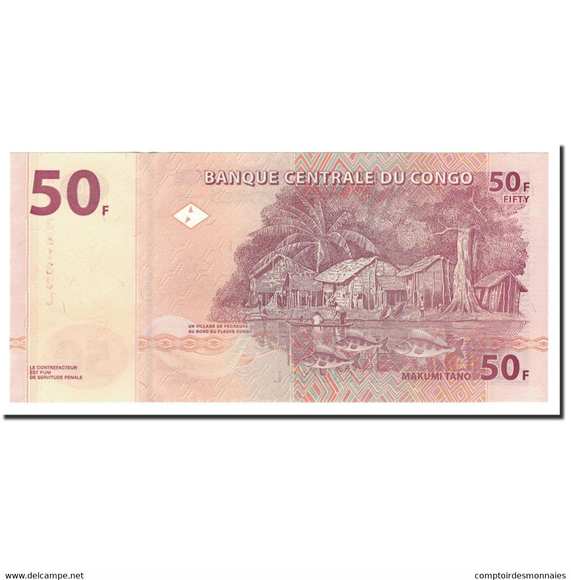 Congo Democratic Republic, 50 Francs, 2000, KM:91a, 2000-01-04, NEUF - Republic Of Congo (Congo-Brazzaville)