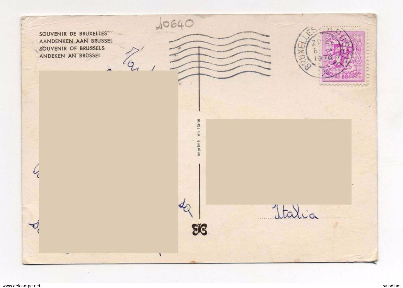 Bruxelles - Storia Postale - Non Classificati