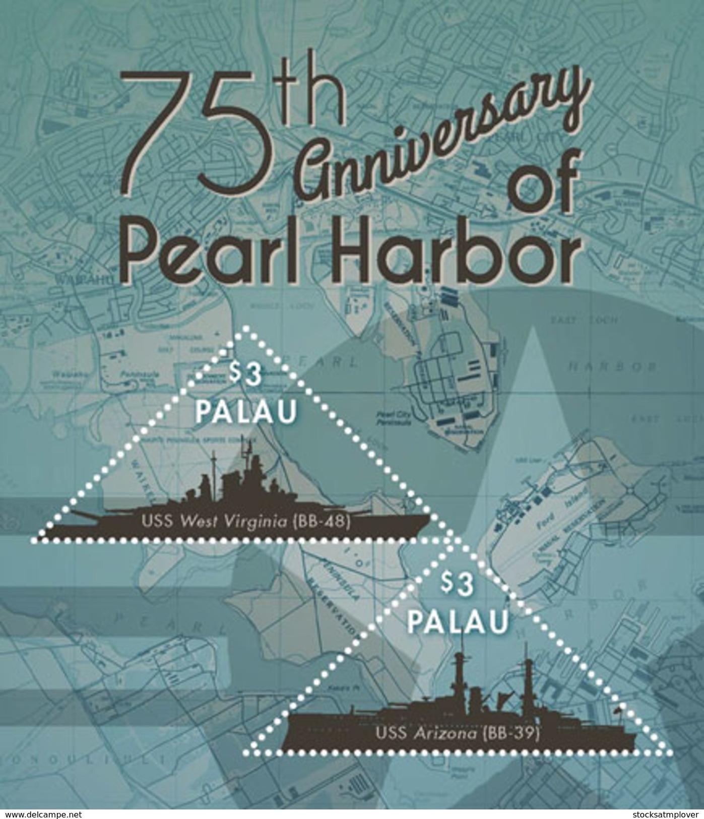 Palau 2016 Pearl Harbor 75th Memorial - Celebrations