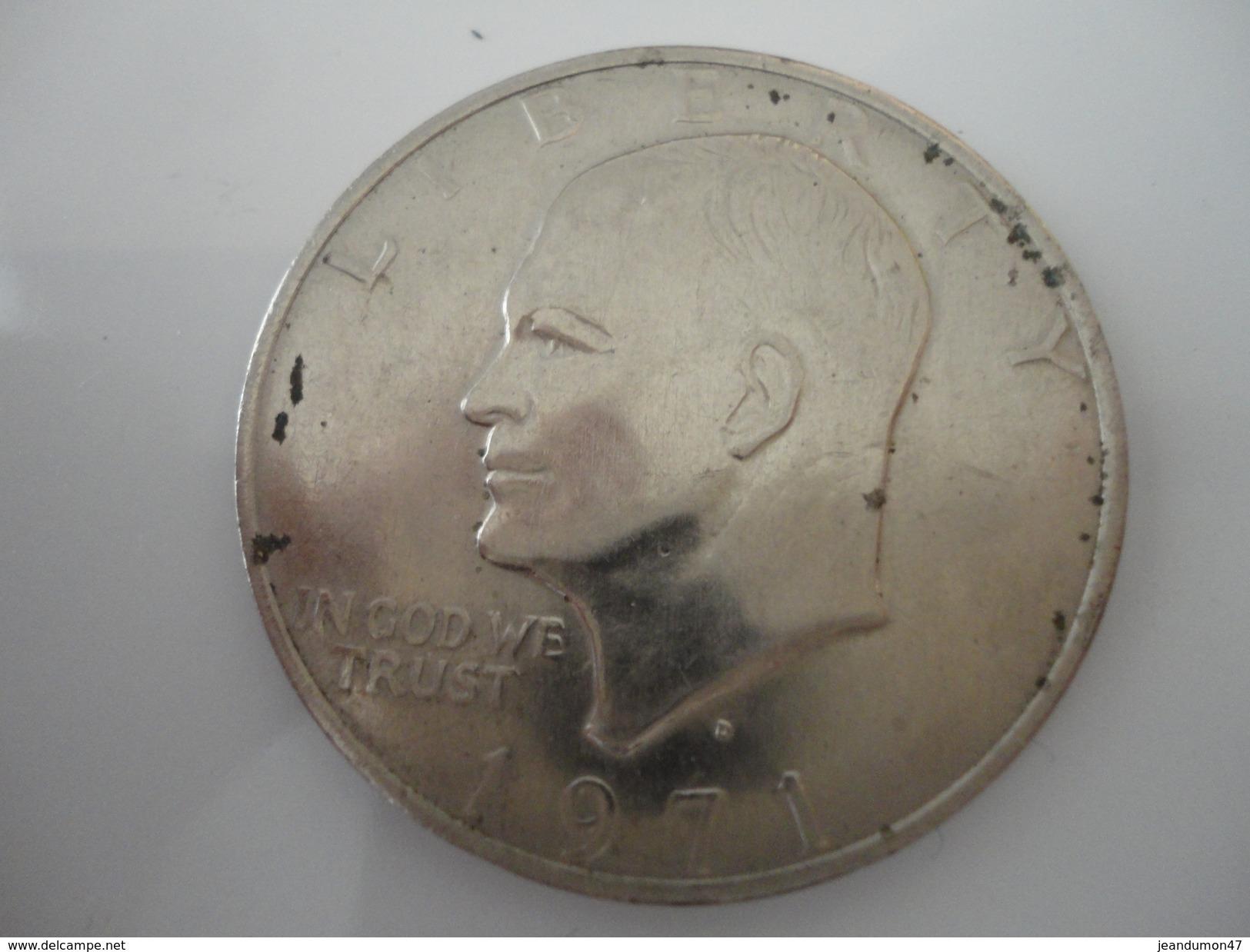 ONE DOLLAR - E-PLURIBUS UNUM.  1971 - A Identifier