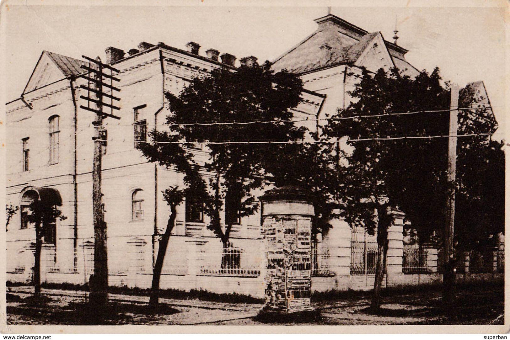 CHISINAU [ MOLDAVIE / ROUMANIE ] - FACULTATEA TEOLOGICA / THEOLOGICAL FACULTY - ANNÉE / YEAR ~ 1930 - RARE !!! (w-500) - Moldavie