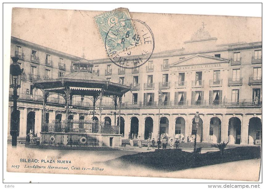 -------- BILBAO  ----- Plaza Nueva  -  Dos Simple Un Peu Sale - Vizcaya (Bilbao)