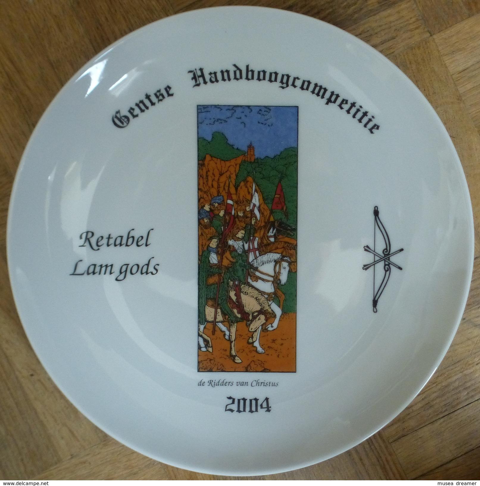 Schuttersbord Retabel Lam Gods 2004 - Tiro Con L'Arco