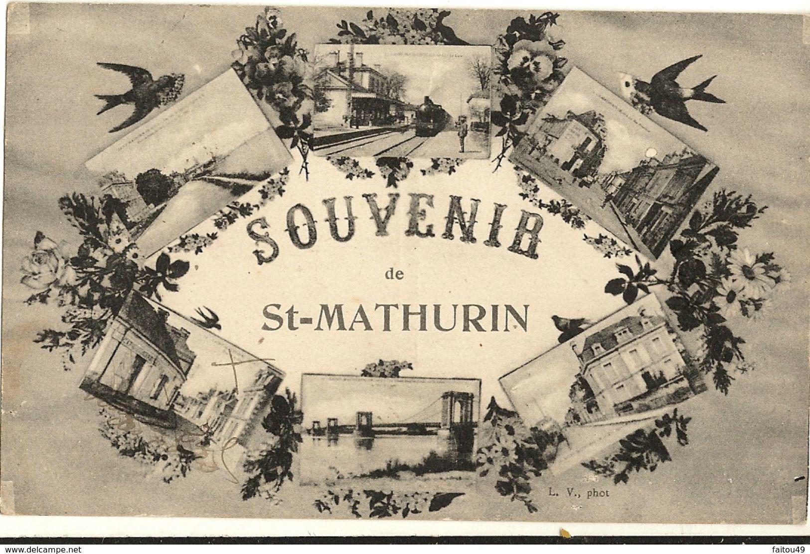 49 -  Souvenir De St-Mathurin    19 - France