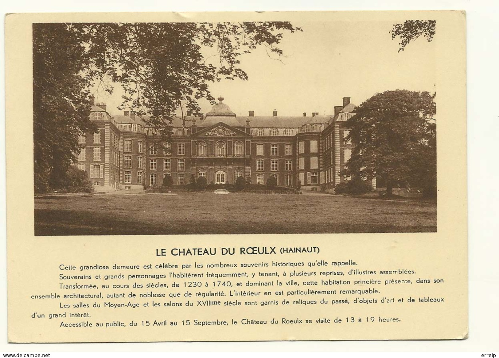 Le Chateau Du Roeulx - Le Roeulx