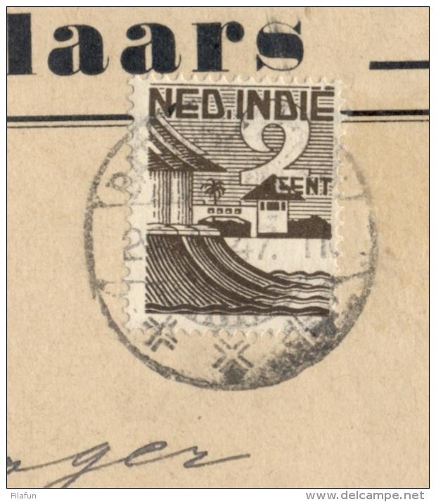 Nederlands Indië - 1947 - 2 Cent Uitgifte Jan Staal, Enkel Op Cover Van Nederlandsch-Indische Vereeniging Postzegelverz. - Nederlands-Indië
