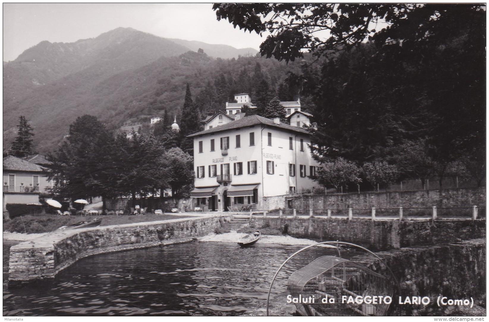 Saluti Da Faggeto Lario (Como) - Hotel Plinio - Como