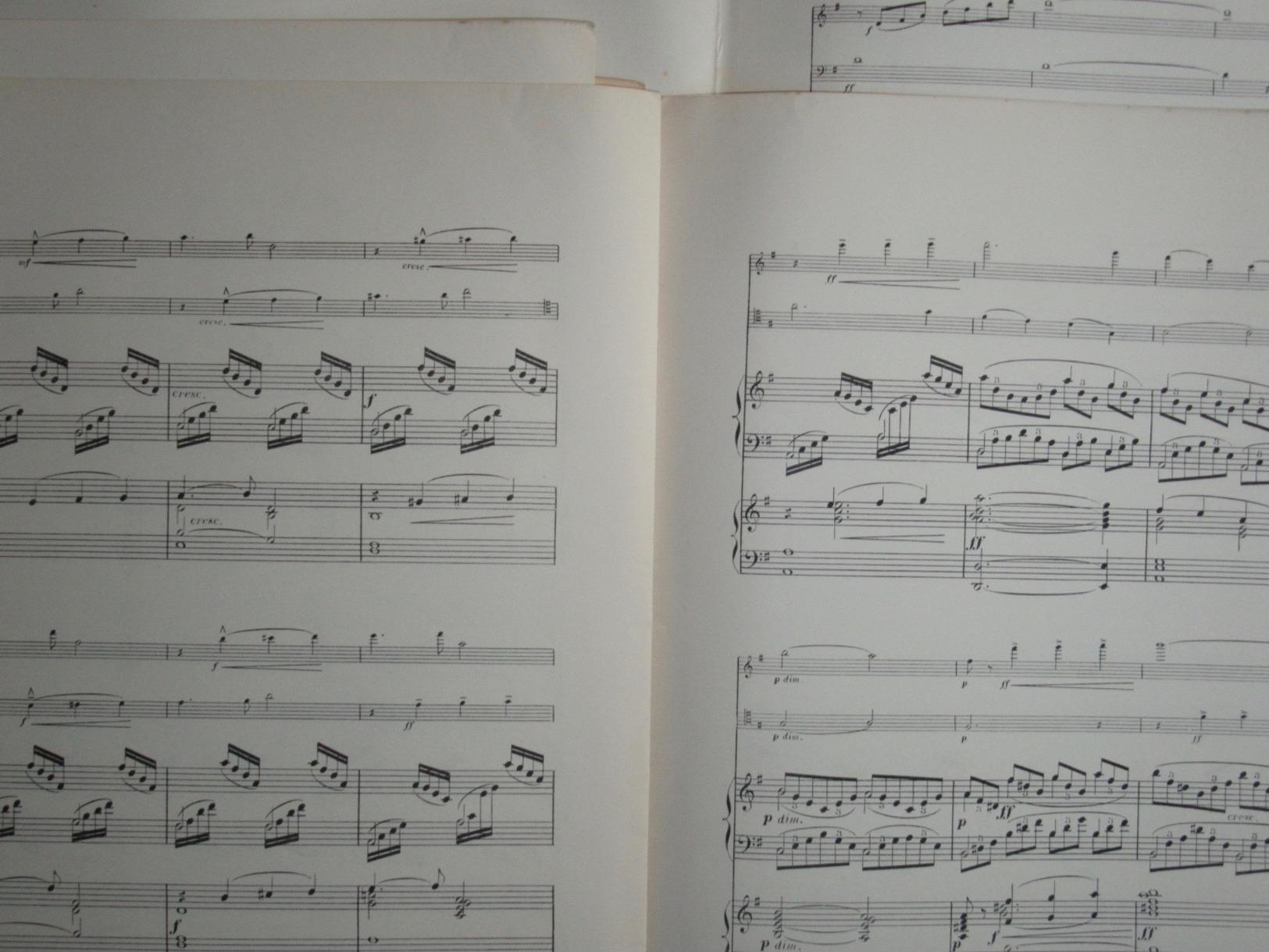 PARTITION GF ORGUE HARPE VIOLON VIOLONCELLE XAVIER LEROUX AVE MARIA 1898 HÉGLON - Classical