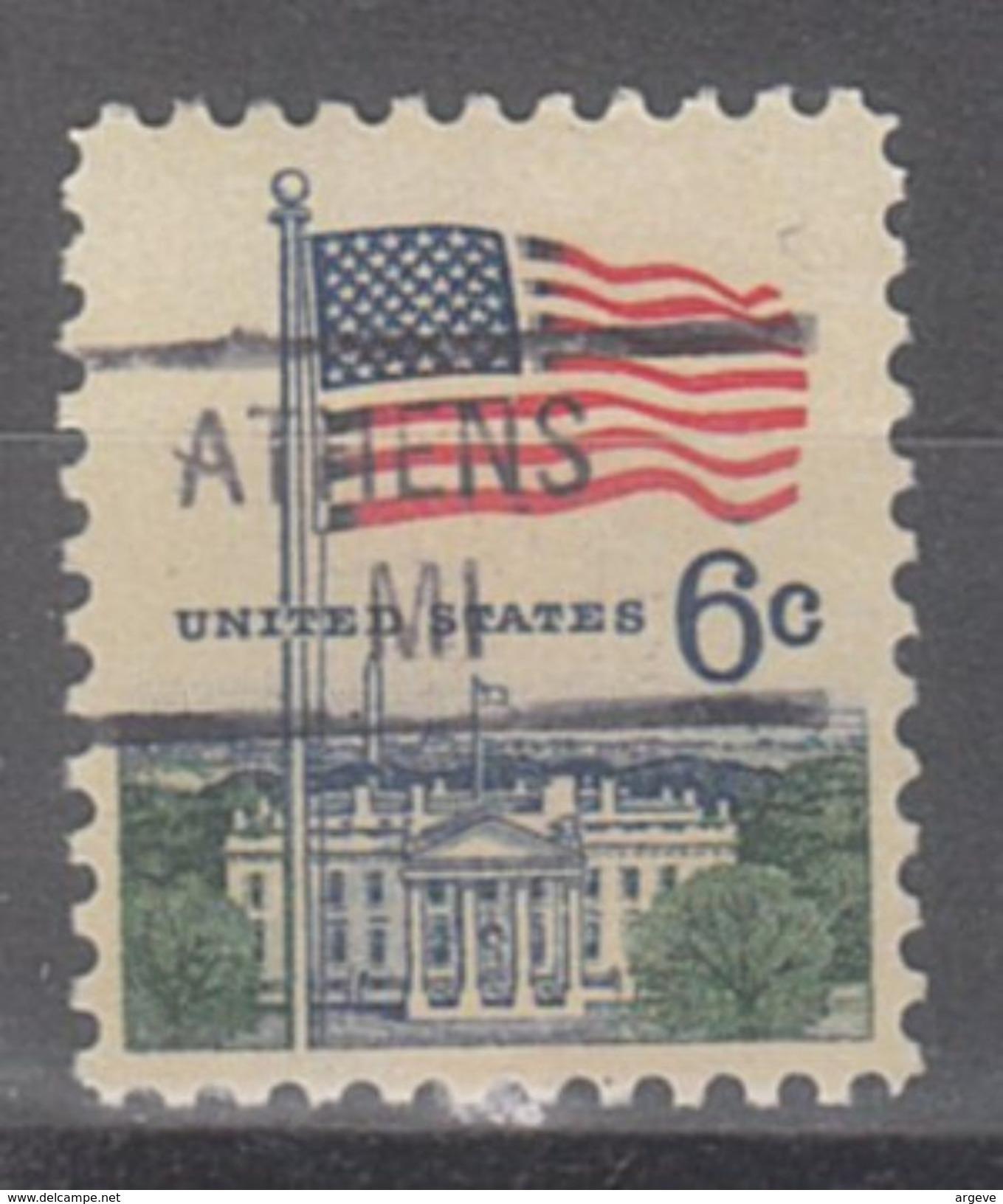 USA Precancel Vorausentwertung Preo, Locals Michigan, Athens 841 - Vorausentwertungen