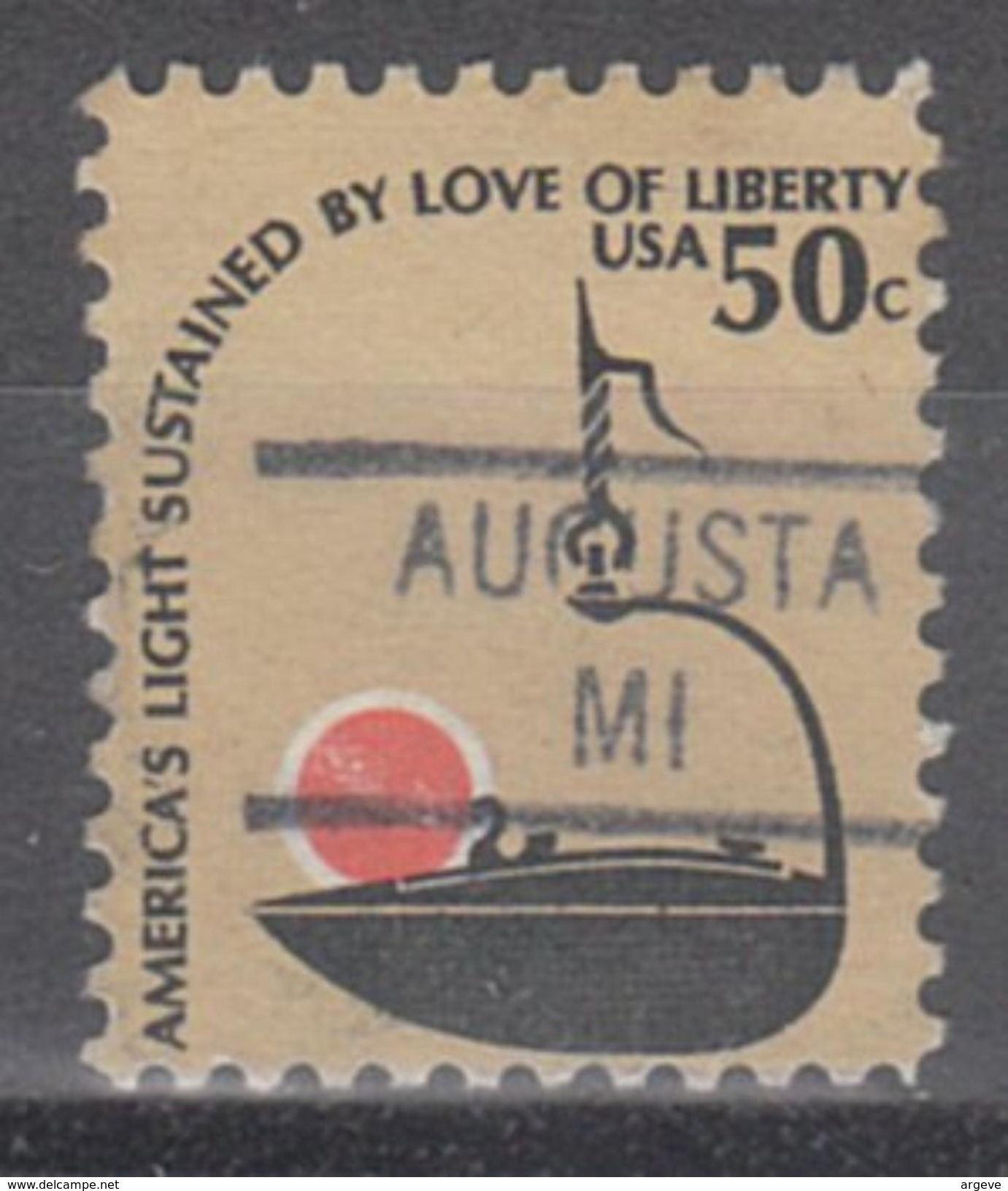 USA Precancel Vorausentwertung Preo, Locals Michigan, Augusta 841 - Vorausentwertungen