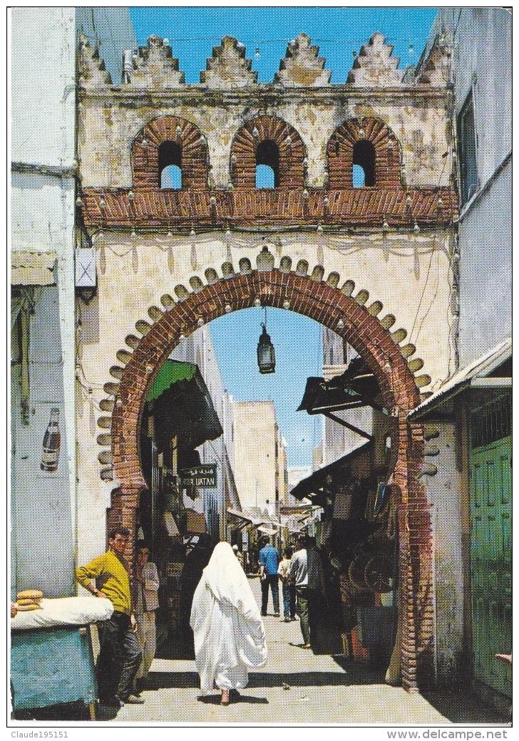 MAROC   LARACHE    PORTE DU GRAND VIZIR - Maroc