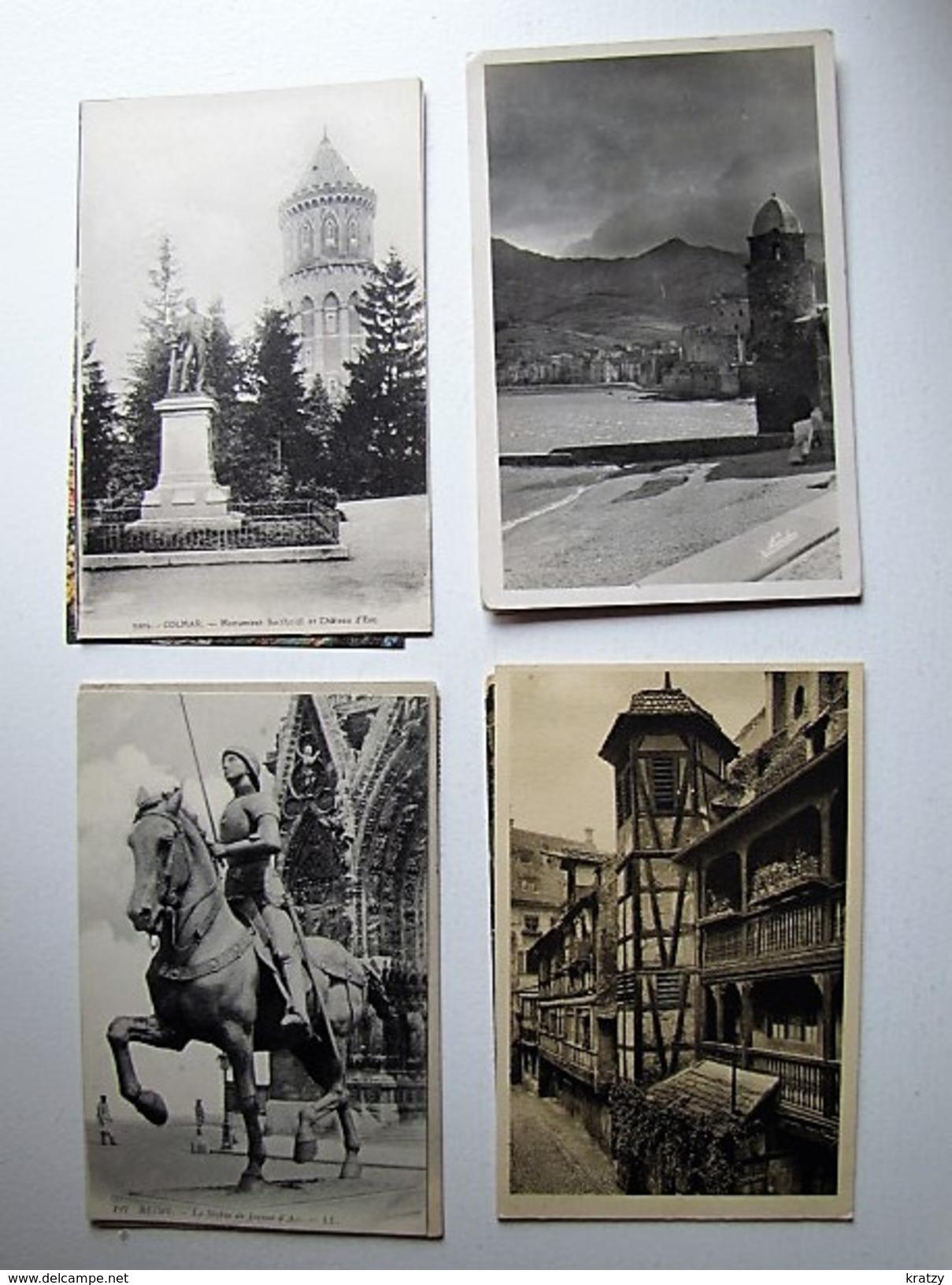 FRANCE - Lot De 50 Cartes Postales Anciennes - Postcards