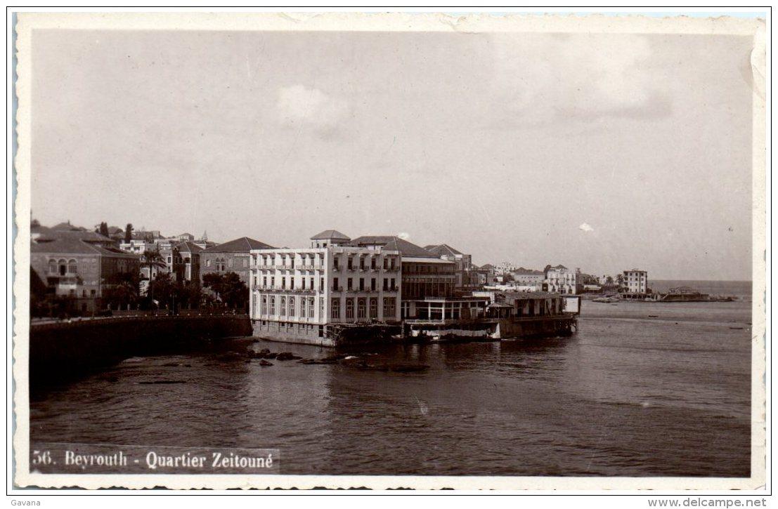 BEYROUTH - Quartier Zeitouné     (Resto/Verso) - Liban