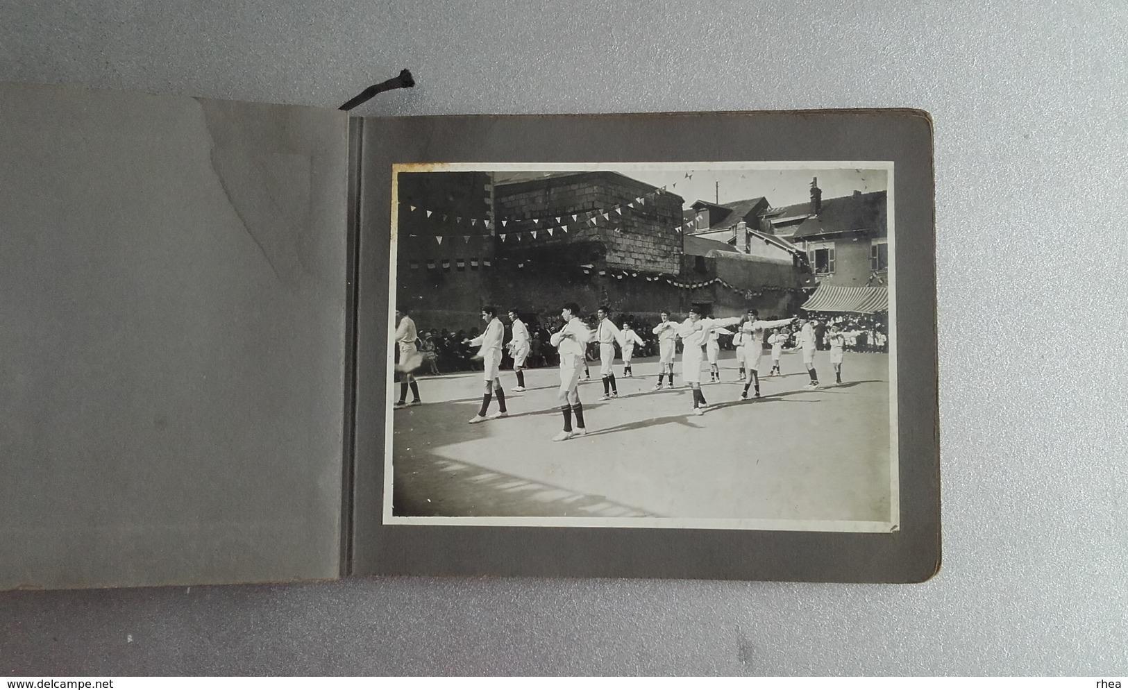 44 - NANTES - Très Bel Album Photos - Ecole Sainte-Croix Rue Des Olivettes - Fetes Des Jeux 1931 - Lieux