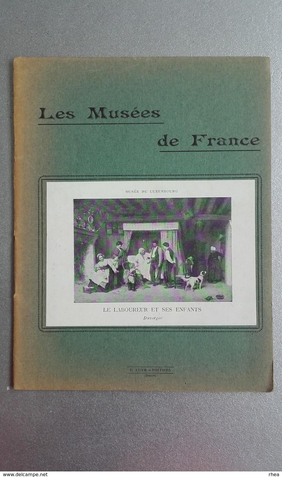CAHIER D'ECOLIER - Les Musées De France - Musée Du Luxembourg - Le Laboureur Et Ses Enfants De Duverger - Non Classés