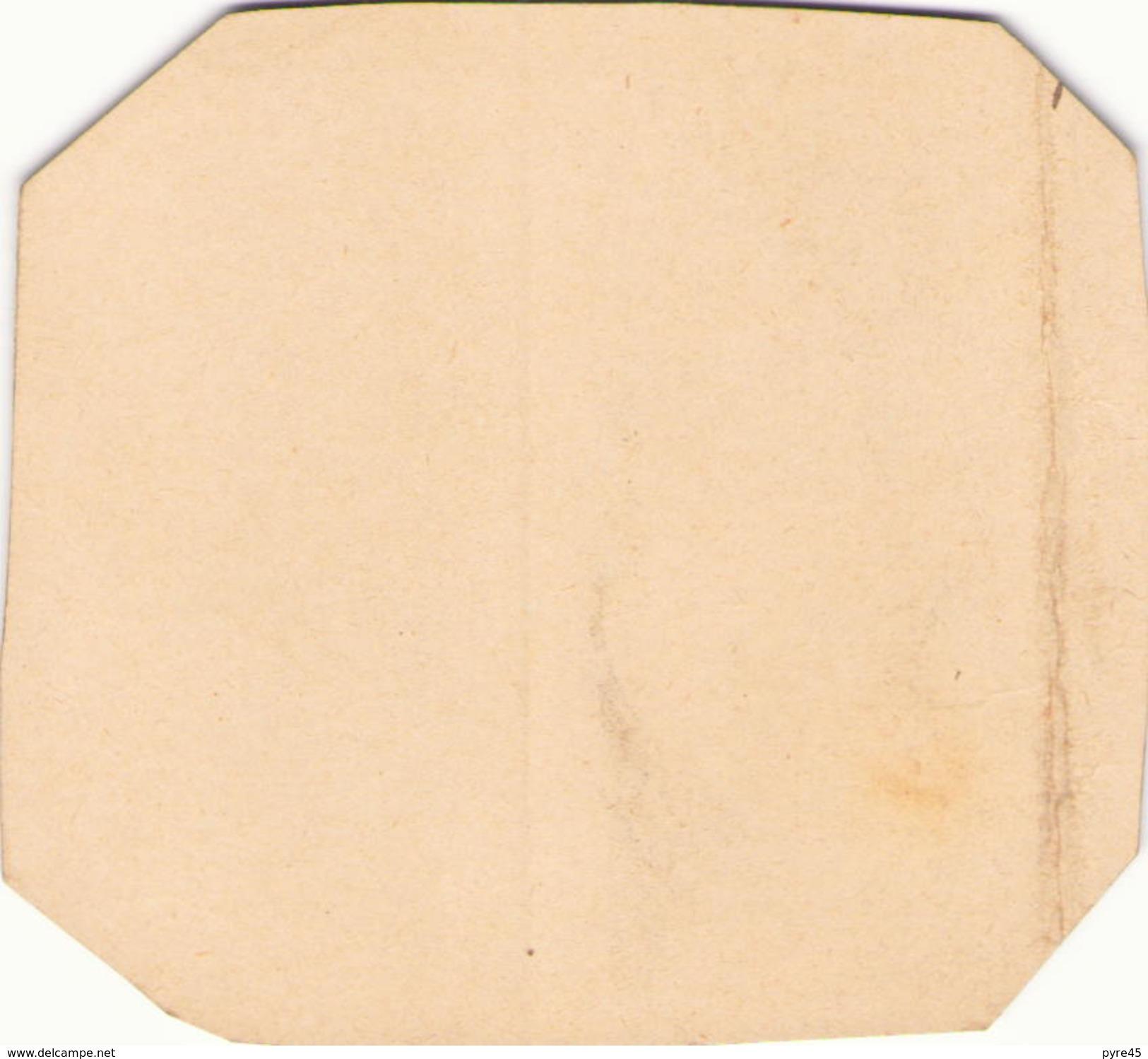 Dessin Sur Carton  à L'encre De Chine D'un Orang-outang 11 Cm X  10,5 Cm - Andere Verzamelingen
