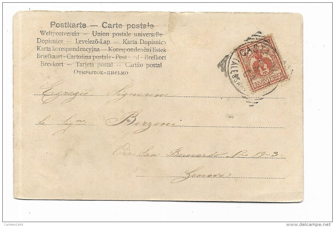 BAMBINI IN POSA PRIMI 900 - CART. FOTOGRAFICA VIAGGIATA 1903  FP - Enfants