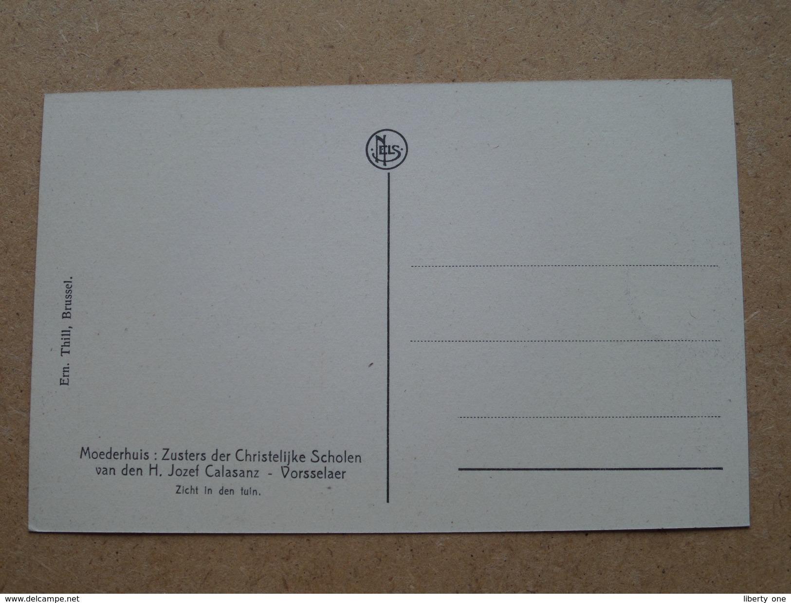 MOEDERHUIS : Zusters Der Christelijke Scholen V/d H. Jozef Calasanz ( Thill ) Anno 19?? ( Zie Foto Voor Details ) ! - Vorselaar