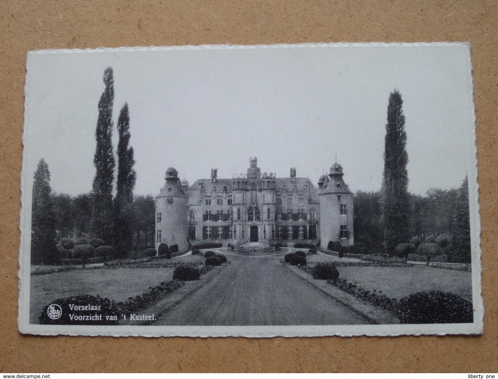 Voorzicht Van 't Kasteel ( I. Van Hoof ) Anno 19?? ( Zie Foto Voor Details ) ! - Vorselaar