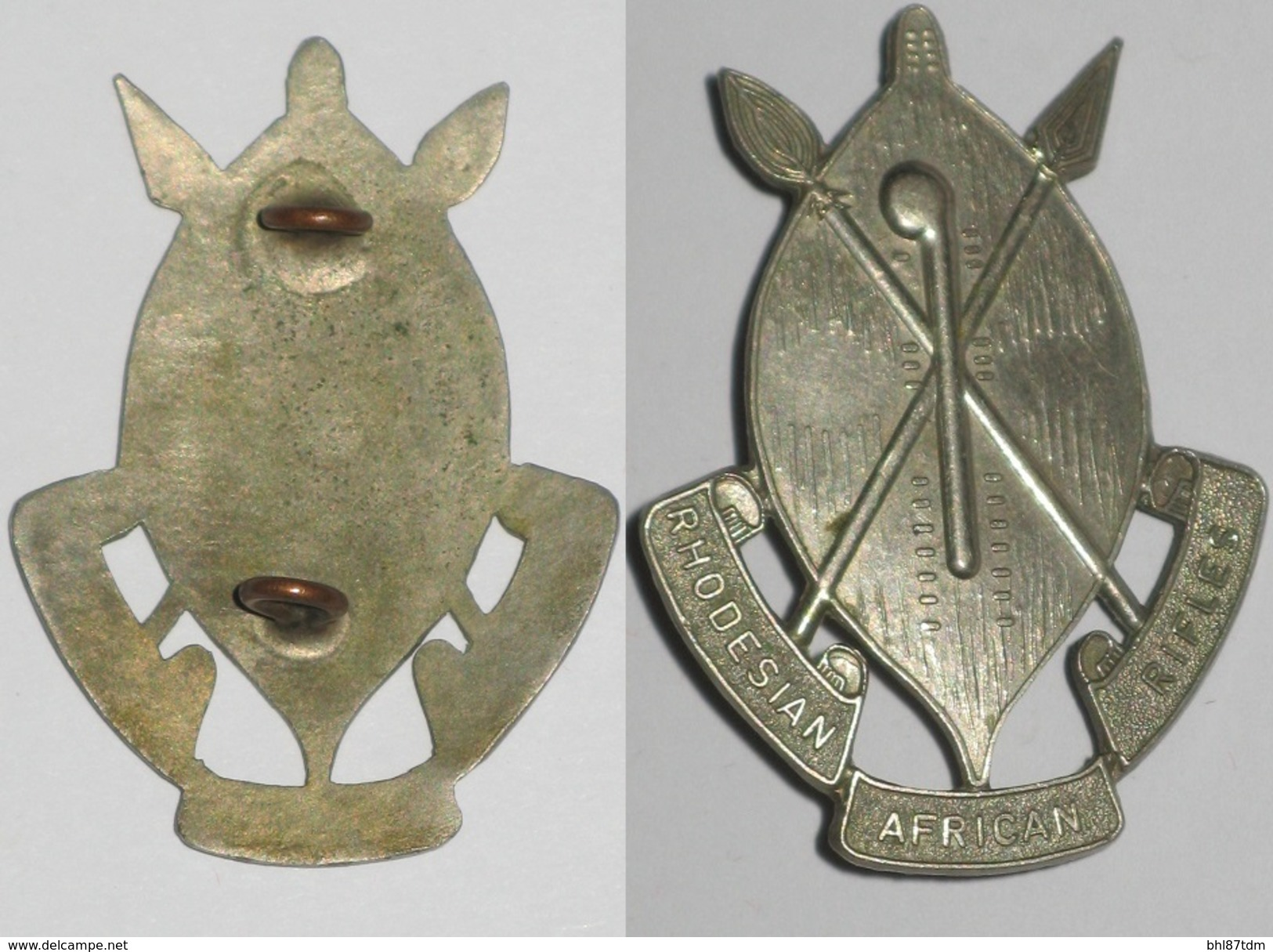 Afrique, Rhodesian African Rifles, Afrique Du Sud, Rhodésie, Forces Spéciales - Armée De Terre