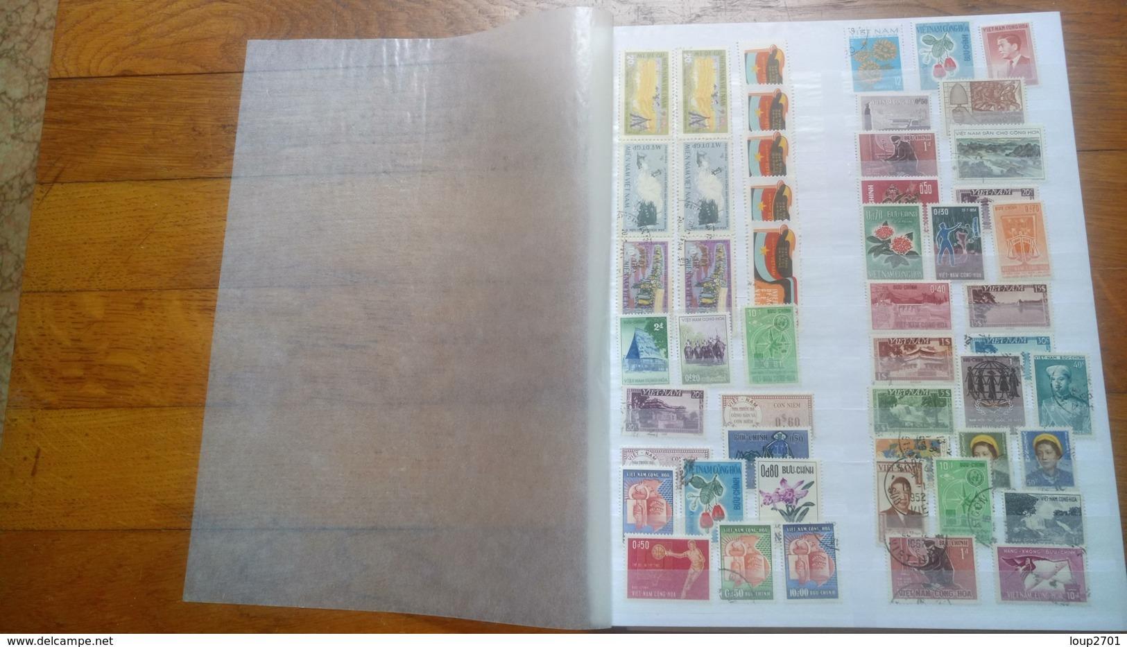 F0271 LOT FEUILLES COLONIES A TRIER BELLE COTE DÉPART 10€ - Collezioni (in Album)