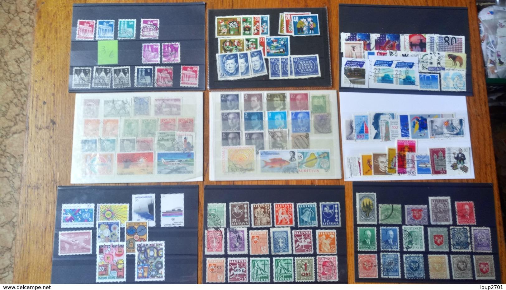 F0283 LOT 149 CARTES CLASSEMENT A TRIER FORTE COTE DÉPART 50€ - Stamps