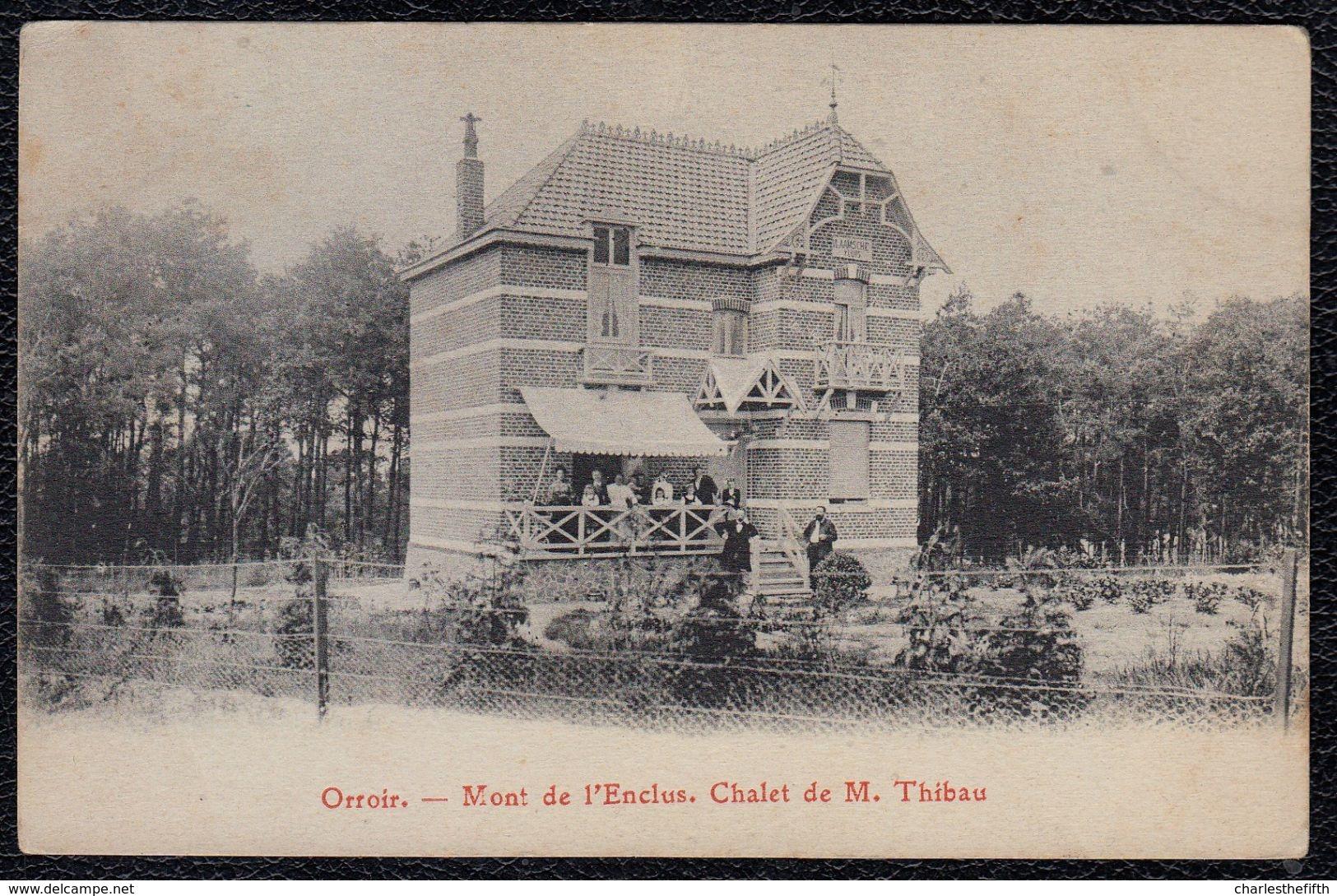 ORROIR - MONT DE L'ECLUS --- CHALET DE M. THIBAU - Zeer Mooi !! - Kluisbergen