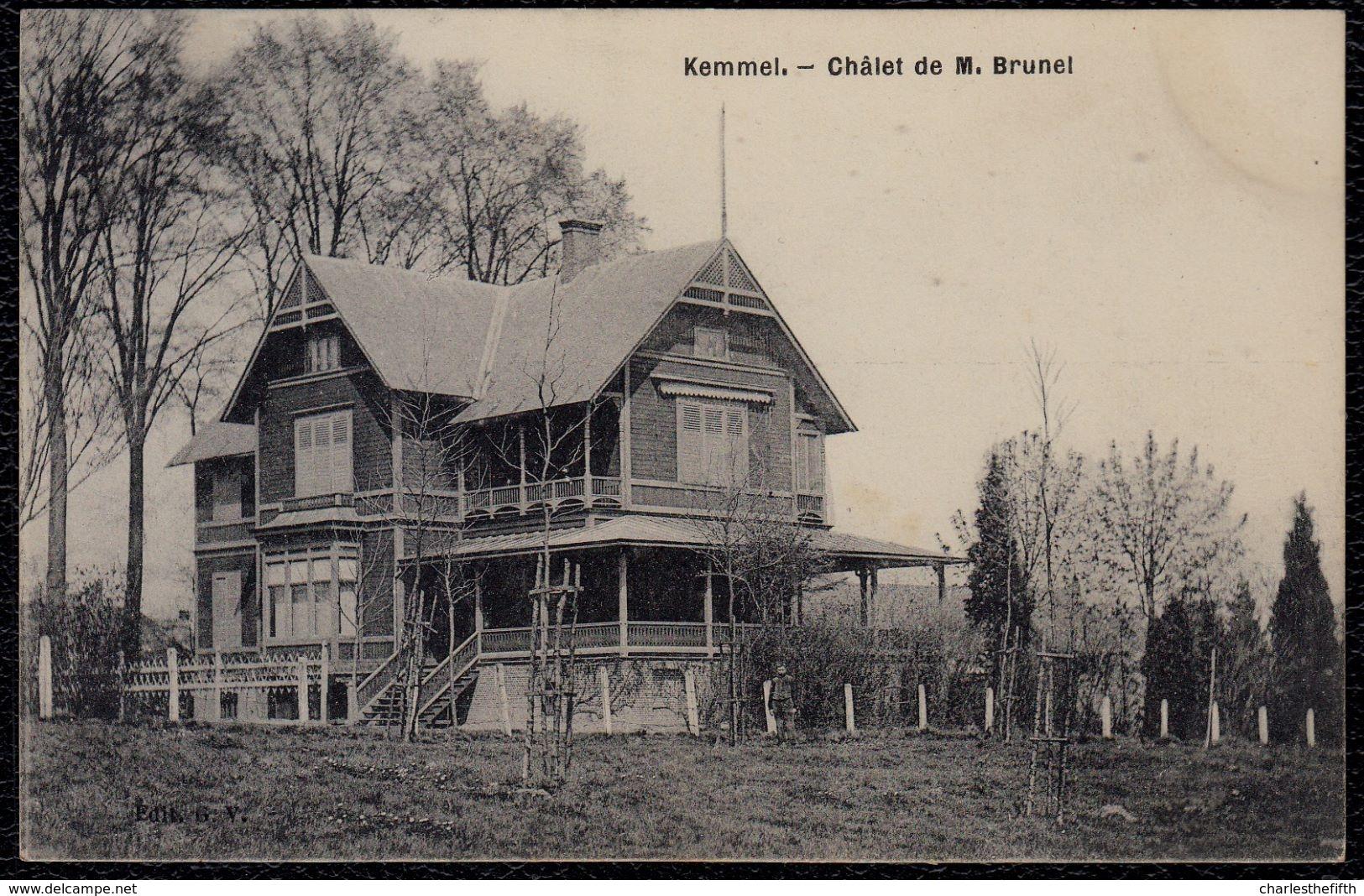 KEMMEL - CHALET DE M. BRUNEL - Zeer Mooi ! - Kluisbergen
